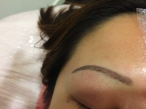 Micro Blading for semi permanent eyebrows. It's an eyebrow densifying technique to restore the fullness or to enhance definition.
